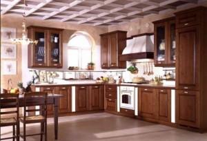 Декоративные штукатурки на кухне